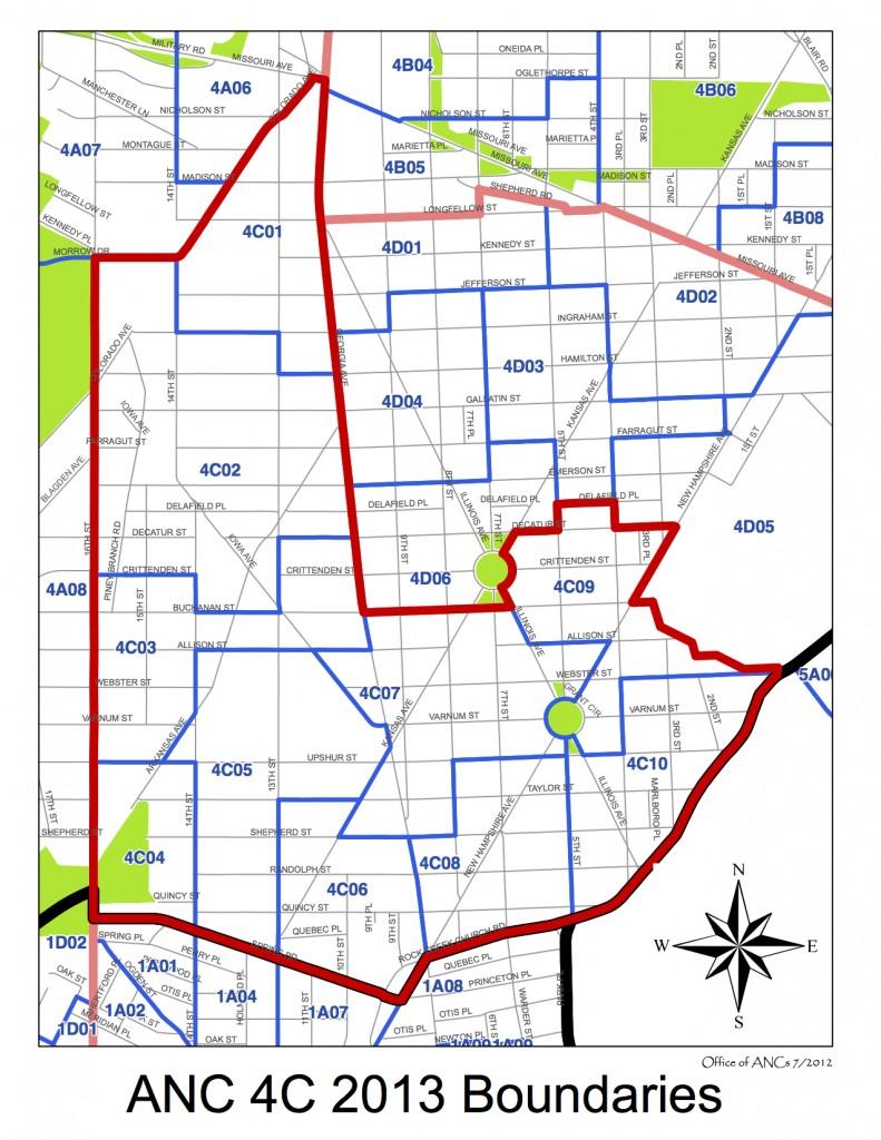 Anc 4c Map Anc 4c In Dc